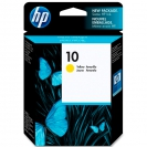HP 10, C4842A картридж жёлтый для Business Inkjet 1000, 1100, 1200, 2000, 2200, 2300, 2500, 2600, 2800, cp1700, Designjet Colorpro GA, CAD, 70, 100, 110, 500, 800, Officejet 9110, 9120, 9130, K850 серии 2800 (28 мл)