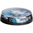 DVD+R TDK 16x 10шт Scratch Proof Cake Box