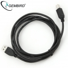 GEMBIRD USB 2.0 Cable AM, BM, 3.0 metres