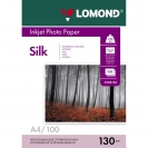 LOMOND 0102153 Silk Photo Paper, 130 g/m2, A4, 100 sheets