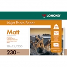 LOMOND 0102157 Matt Photo Paper, 230 g/m2, A6 (10 x 15 cm) 250 sheets