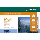 LOMOND 0102158 Matt Photo Paper, 180 g/m2, A6 (10 x 15 cm) 300 sheets