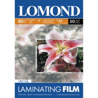 LOMOND Laminating Matt Film, 80 micron, A5 (154 x 216 mm) 50 Pouch (100 sheets) 1301136 buy at the Best Price in the E-shop TONER-ZIP.RU