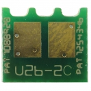 Compatible Chip for Use in HP Color LaserJet CE741A Cyan